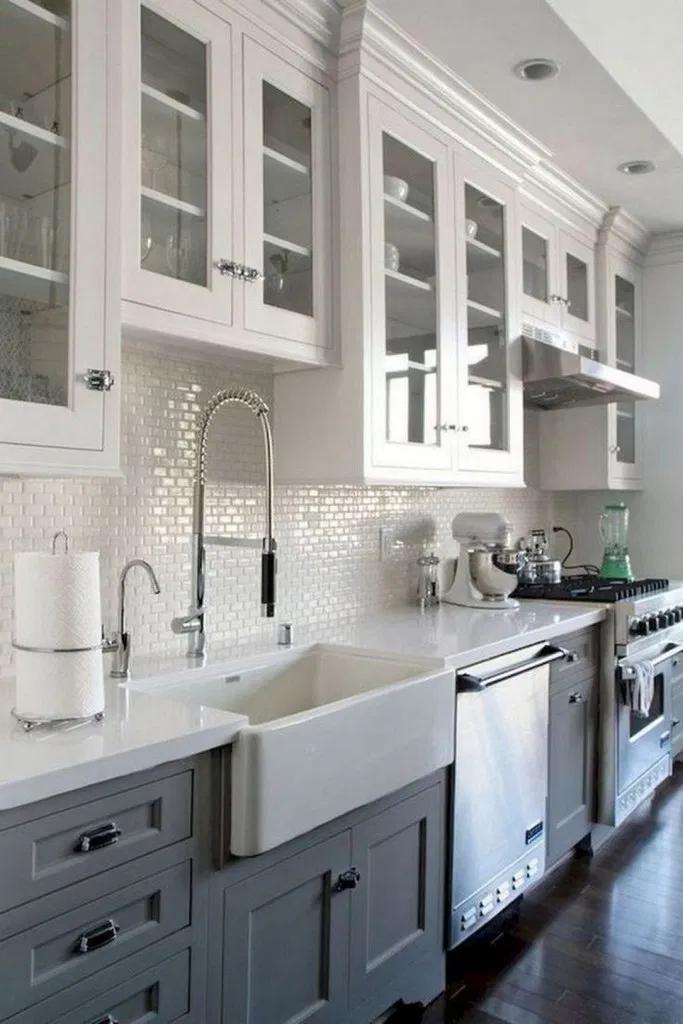 27 white semi handmade kitchen remodel ideas 18 « housemoes