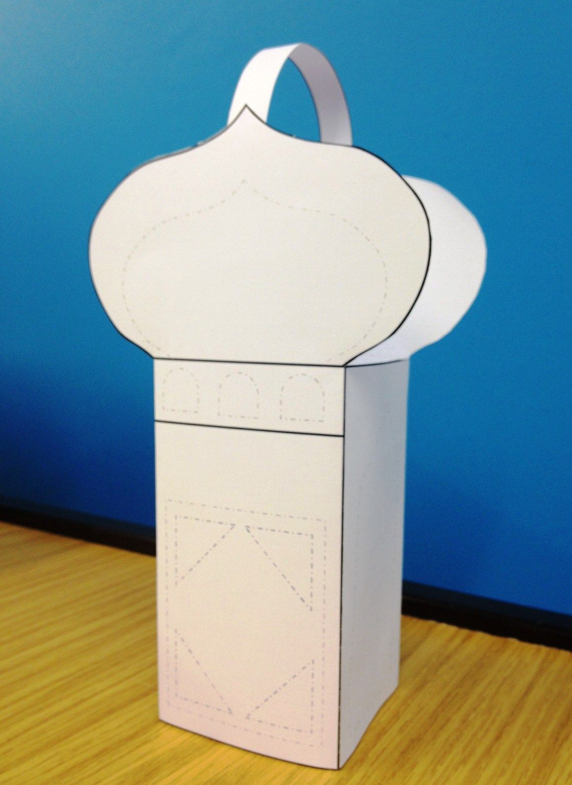 Ramadan Lantern Craft | All you need is a computer connected to a ... for Ramadan Paper Lantern  56bof