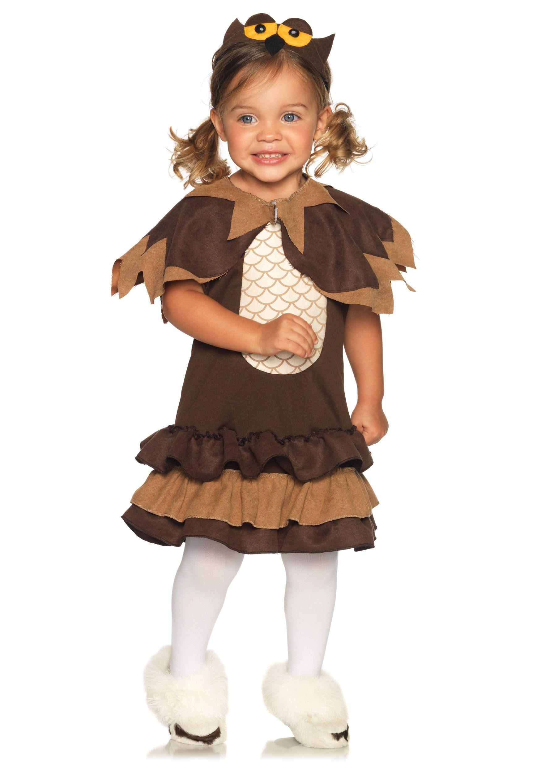 Toddler Hoot Owl Costume