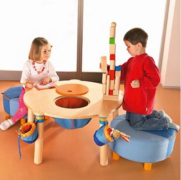 Attractive Haba Round Play Table For Children
