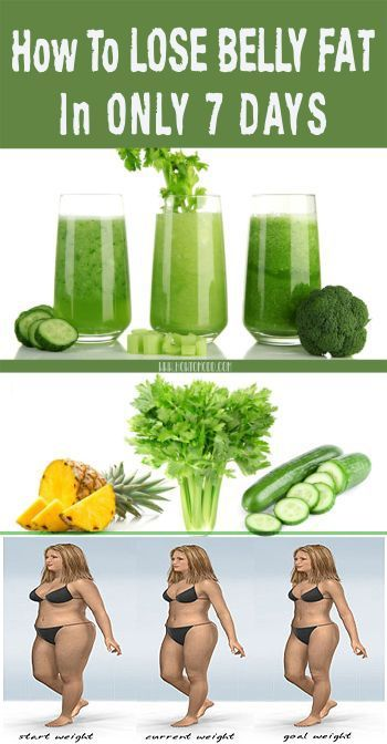 Take This Juice For 7 Days and Forget About Belly Fat