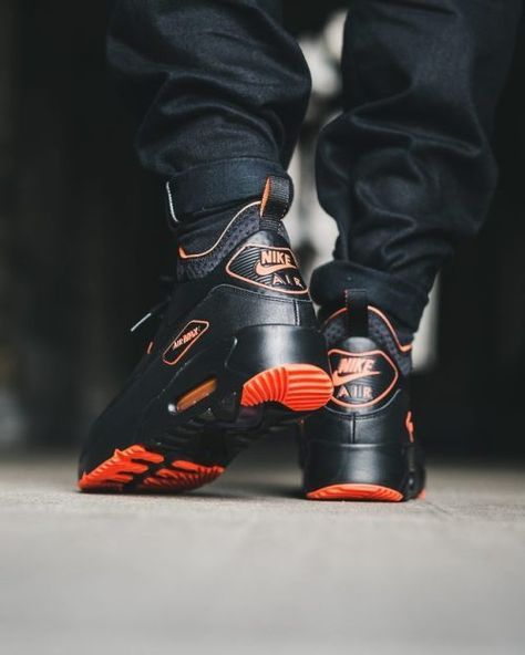 Fashionable Nike Air Max 90 Ultra Mid Winter Men's Black