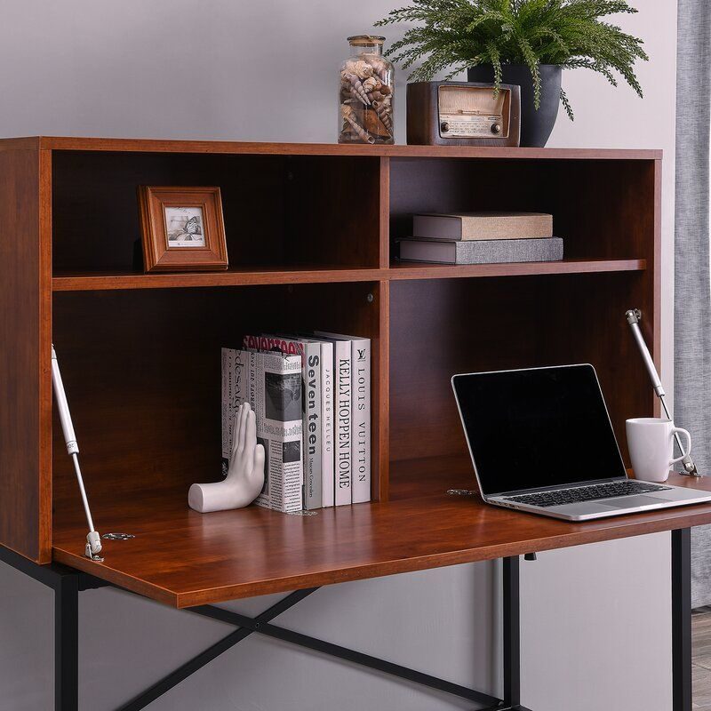 nil drop front storage secretary desk in 2019 for the home rh pinterest com