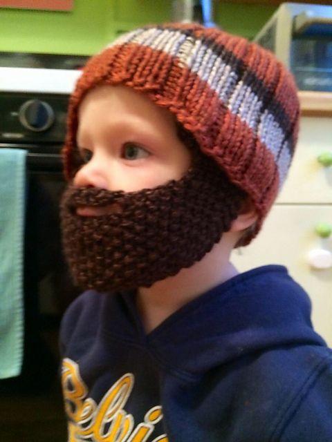 Beard Hat | Beard hat, Knitted beard, Hat pattern