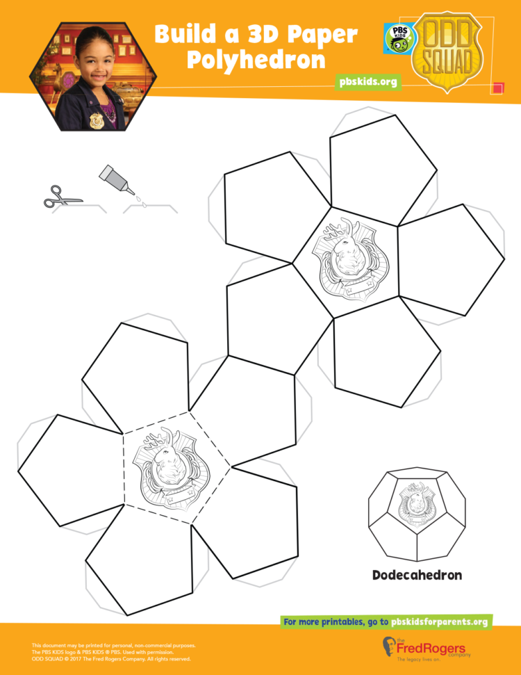 Odd Squad Shape Projects Coloring Pages For Kids Coloring For Kids Pbs Kids