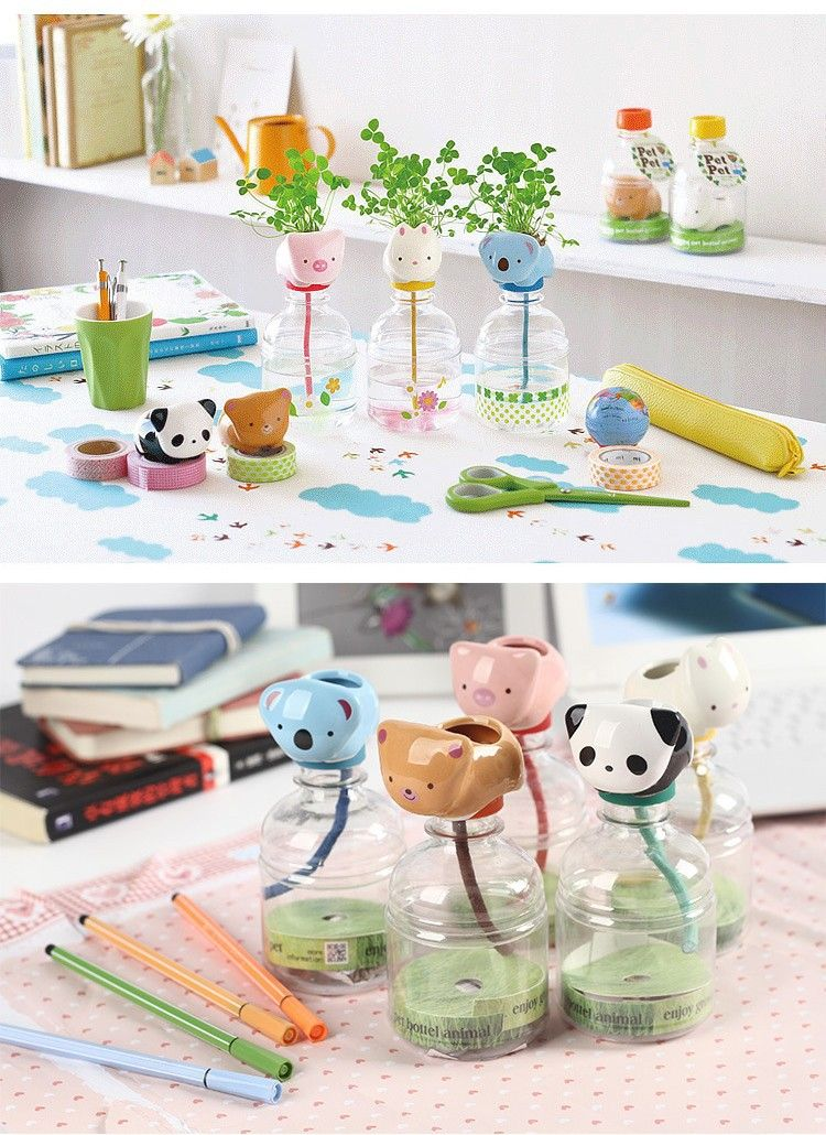 self watering animal planters Geeky gifts for me