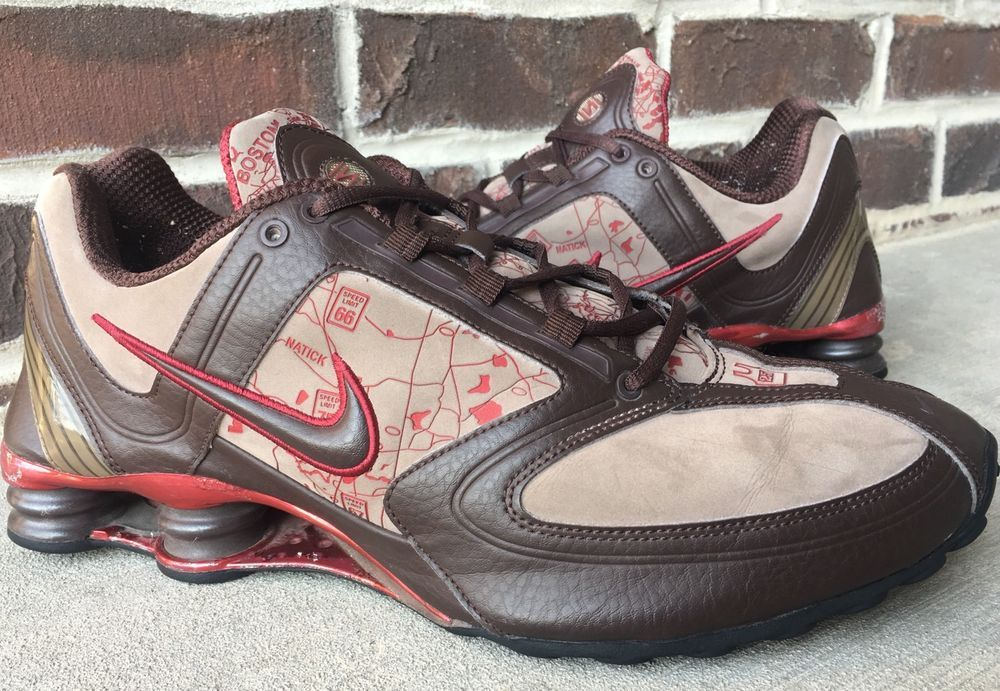 bd3e240d225257 Nike Shox RNG Leather 2006 25TH Anniversary Ltd. Edition Sz 13 317305-221