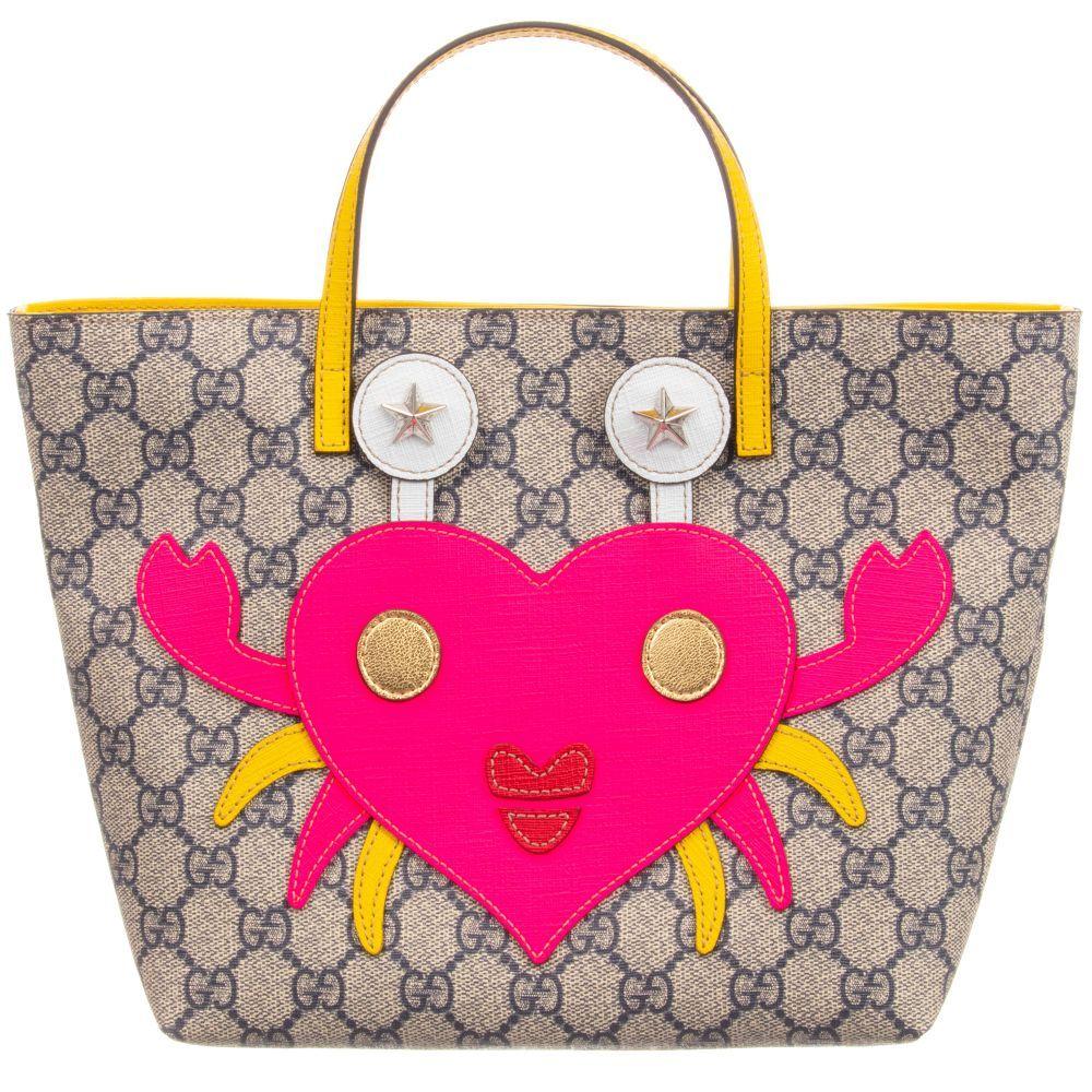 8014195db164 Gucci - GG Supreme Tote Bag (30cm) | Childrensalon Asian Kids, Girls Bags