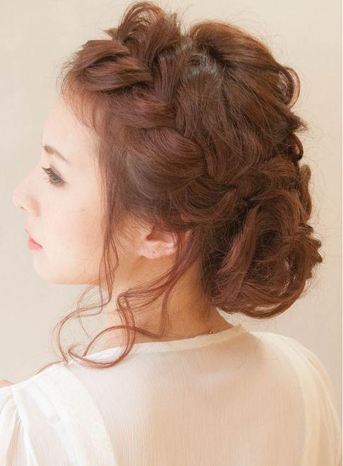 【七五三 成人式 卒業式も随時受付中】 | hair coucouのヘアスタイル ざっくり無造作アップ☆結婚式、二次会に♪を紹介。hair  coucouのヘアスタイル情報なら、美容