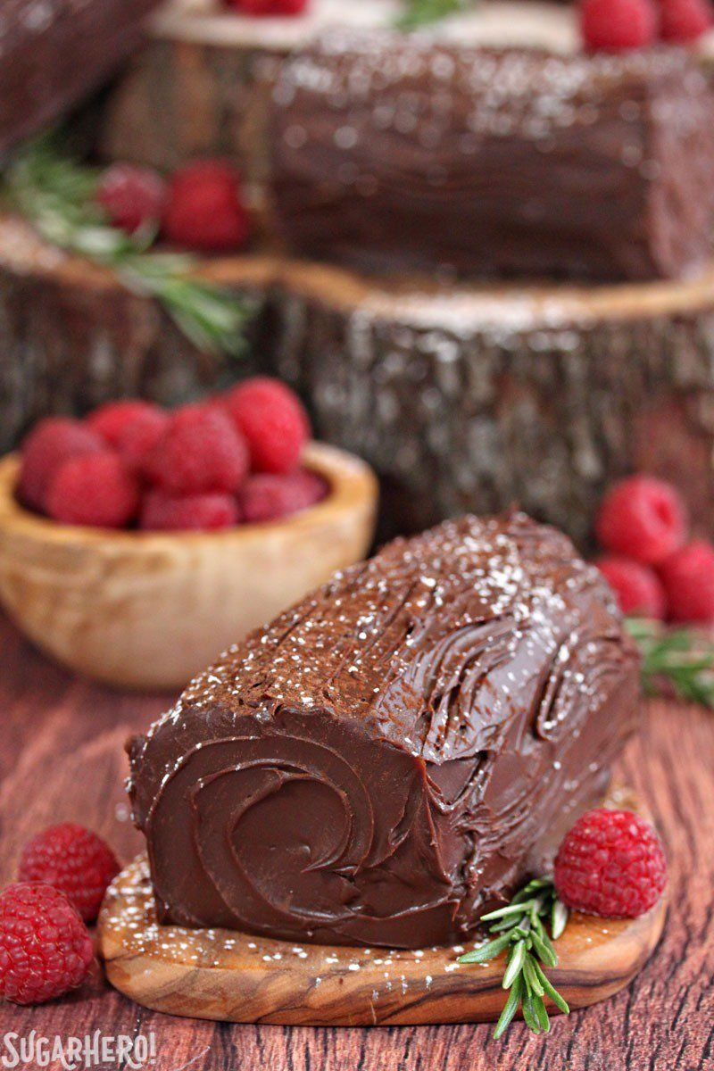Mini NoBake Buche de Noel From