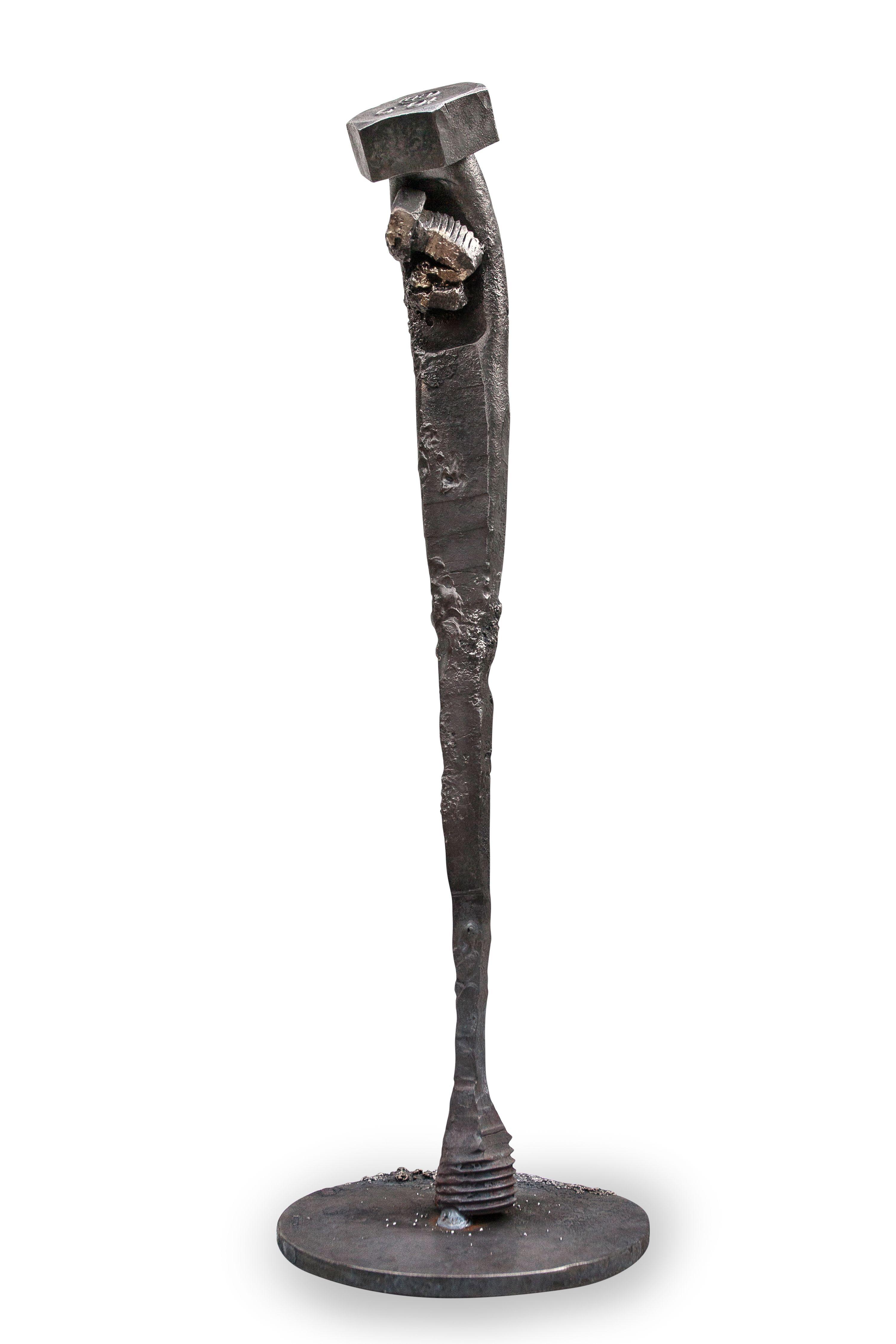Boltpoetry V Vi 0 By The Norwegian Artist Tobbe Malm Contemporarart Metalsculpture Futuristic Steampunk Dieselpunk Metal Sculpture Metal Art Sculptures