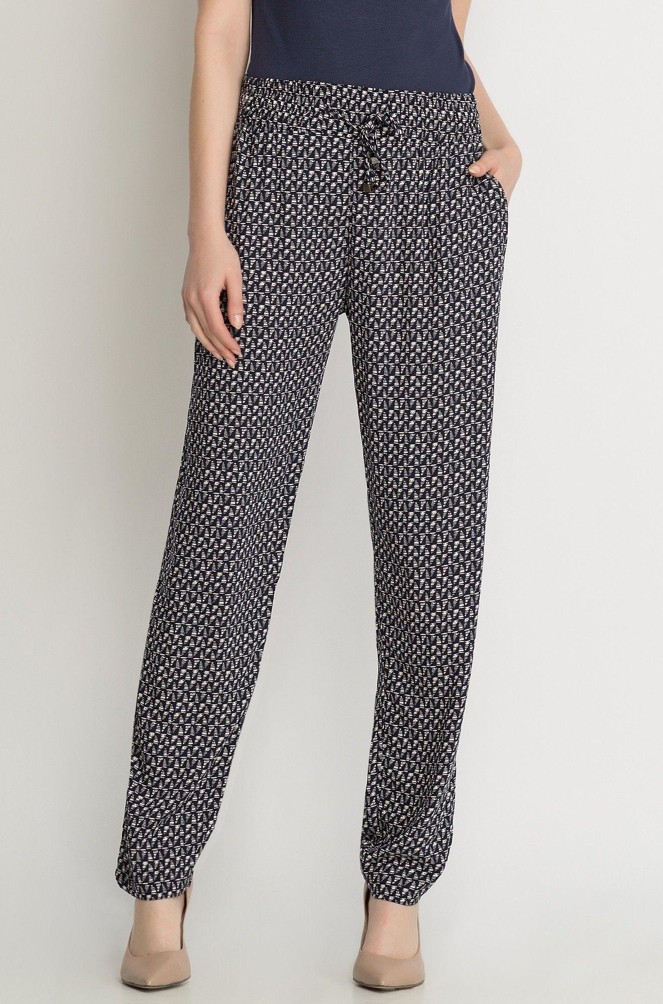 Lockere Stoffhose Mit Muster Fashion Pajama Pants Pants