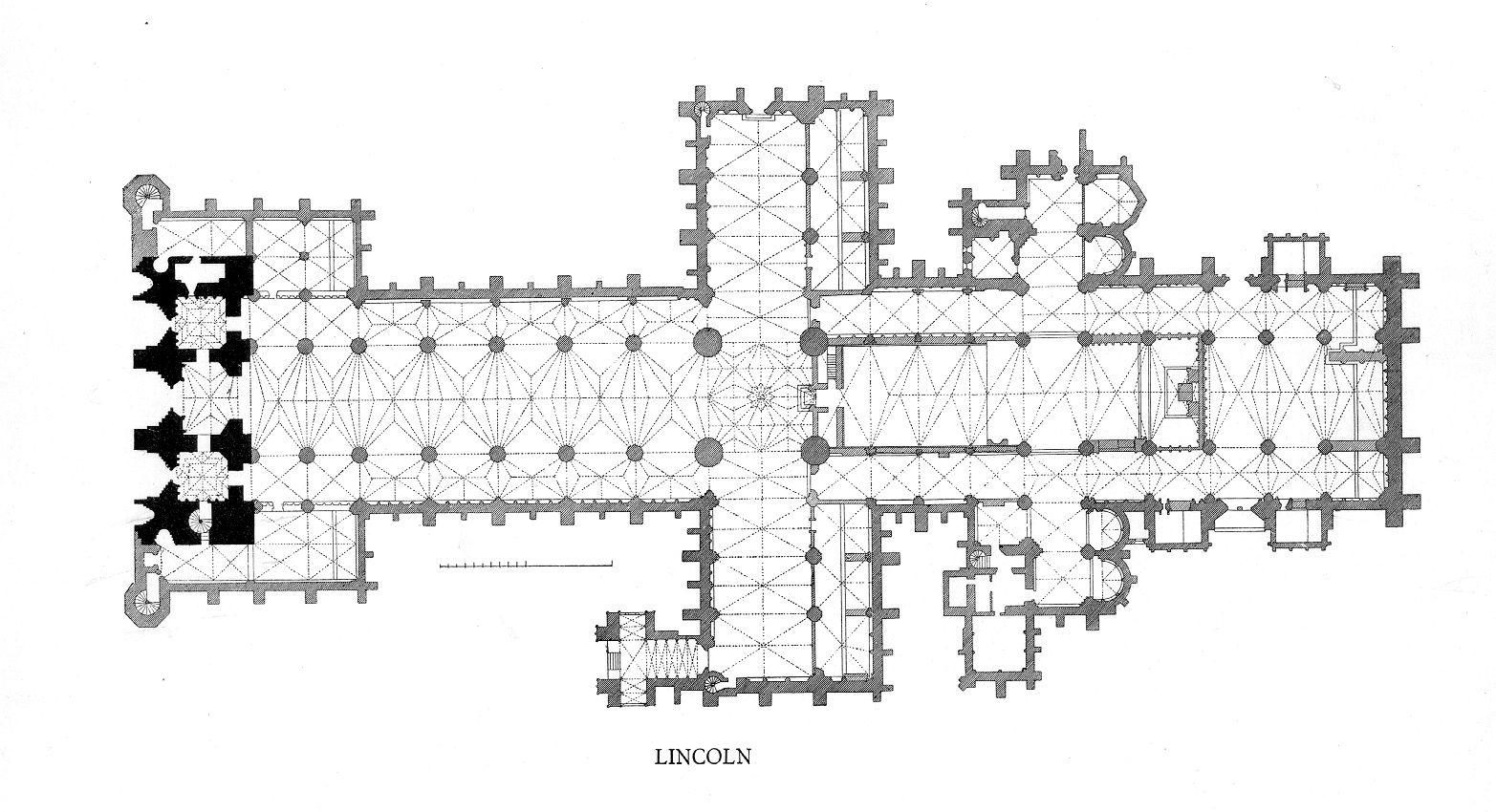 Catedral De Lincoln Inglaterra Su Construccion Comprende