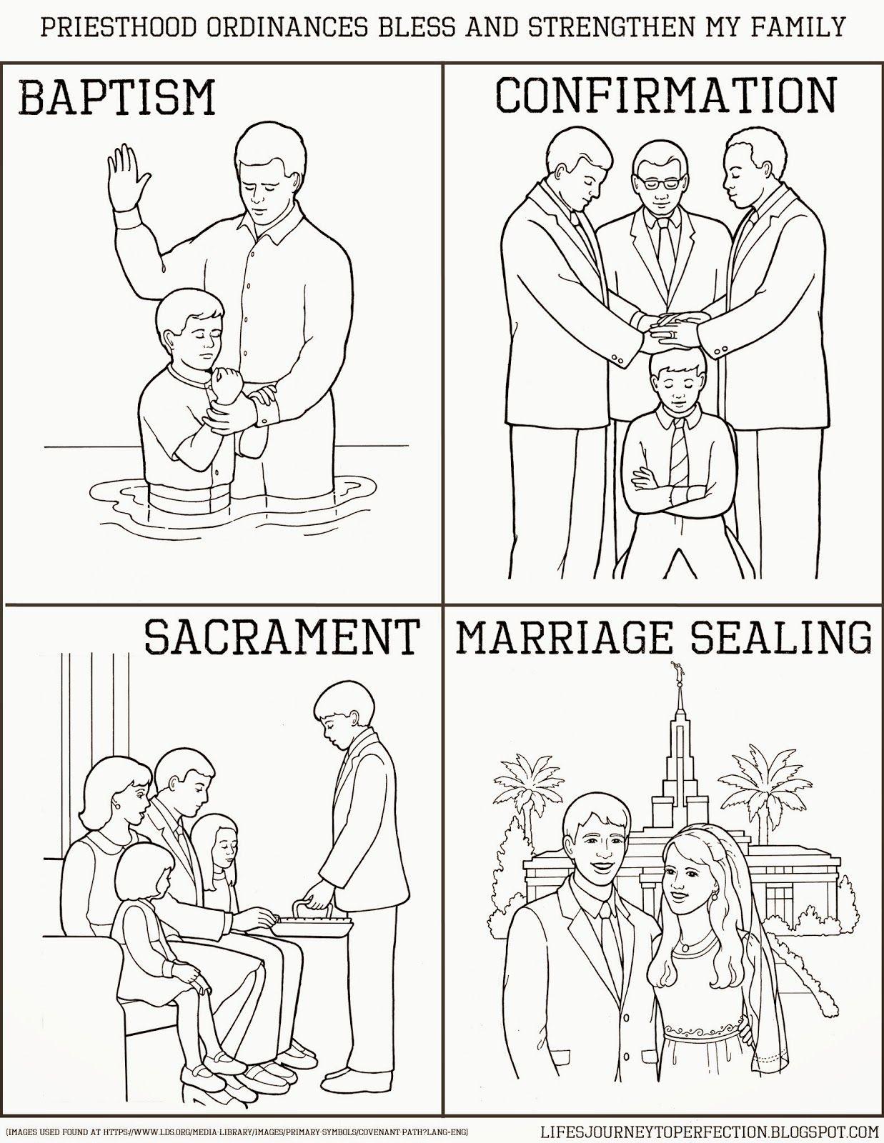 LDS Primary Sharing Time June 2014 Week 1: Priesthood ordinances