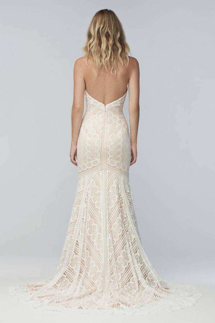 Geometric Lace Wedding Dresses Bridal Gowns Watters Wedding Dress