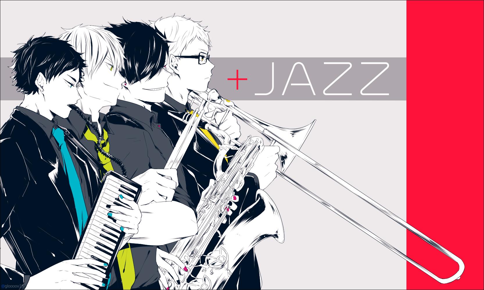 #ハイキュー!! 第三体育館組+JAZZ - 銭子のイラスト