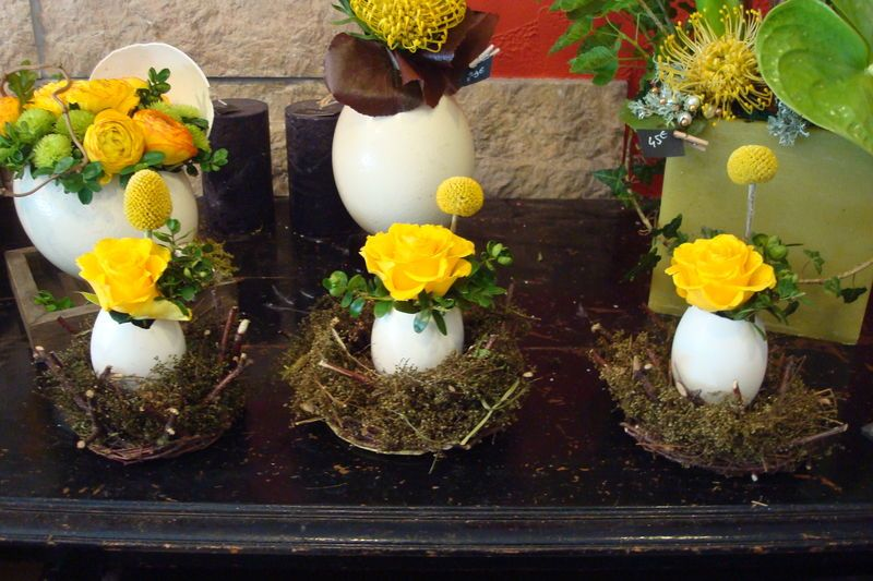 deco florale paques , Recherche Google Activité De Paques, Composition  Florale, Joyeuses Paques,