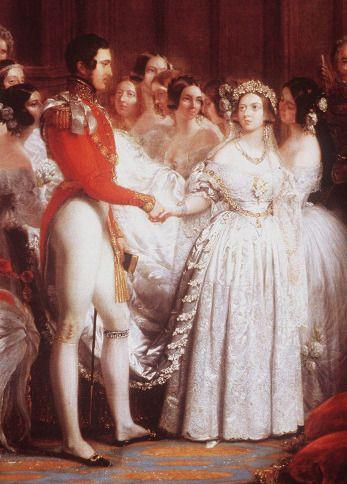 The Royal Order Of Sartorial Splendor Wedding Wednesday February Brides Queen Victoria Facts Queen Victoria Wedding Queen Victoria Wedding Dress