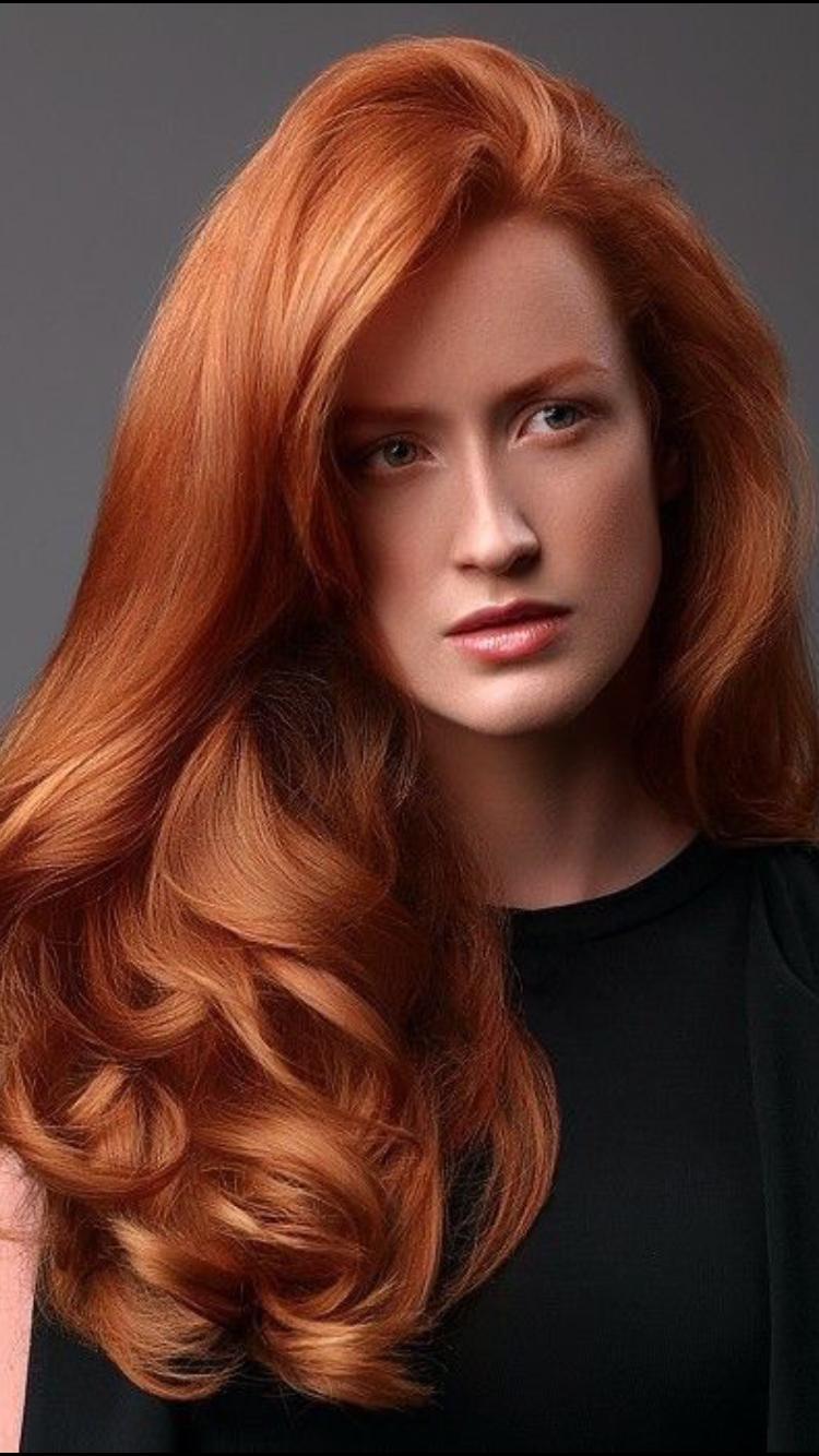 Beauty  Frisur rot, Lange rote haare, Lange haare