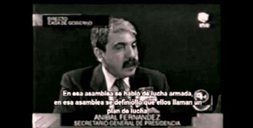 La responsabilidad de Aníbal Fernández en la masacre del puente Avellaneda