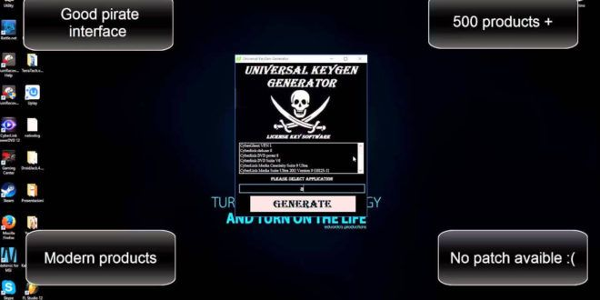 universal keygen generator 2018 full version