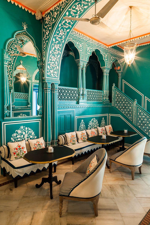 Marie Anne Oudejans S Bar Palladio Joelle Magazine In 2020 Moroccan Dining Room Restaurant Decor Design