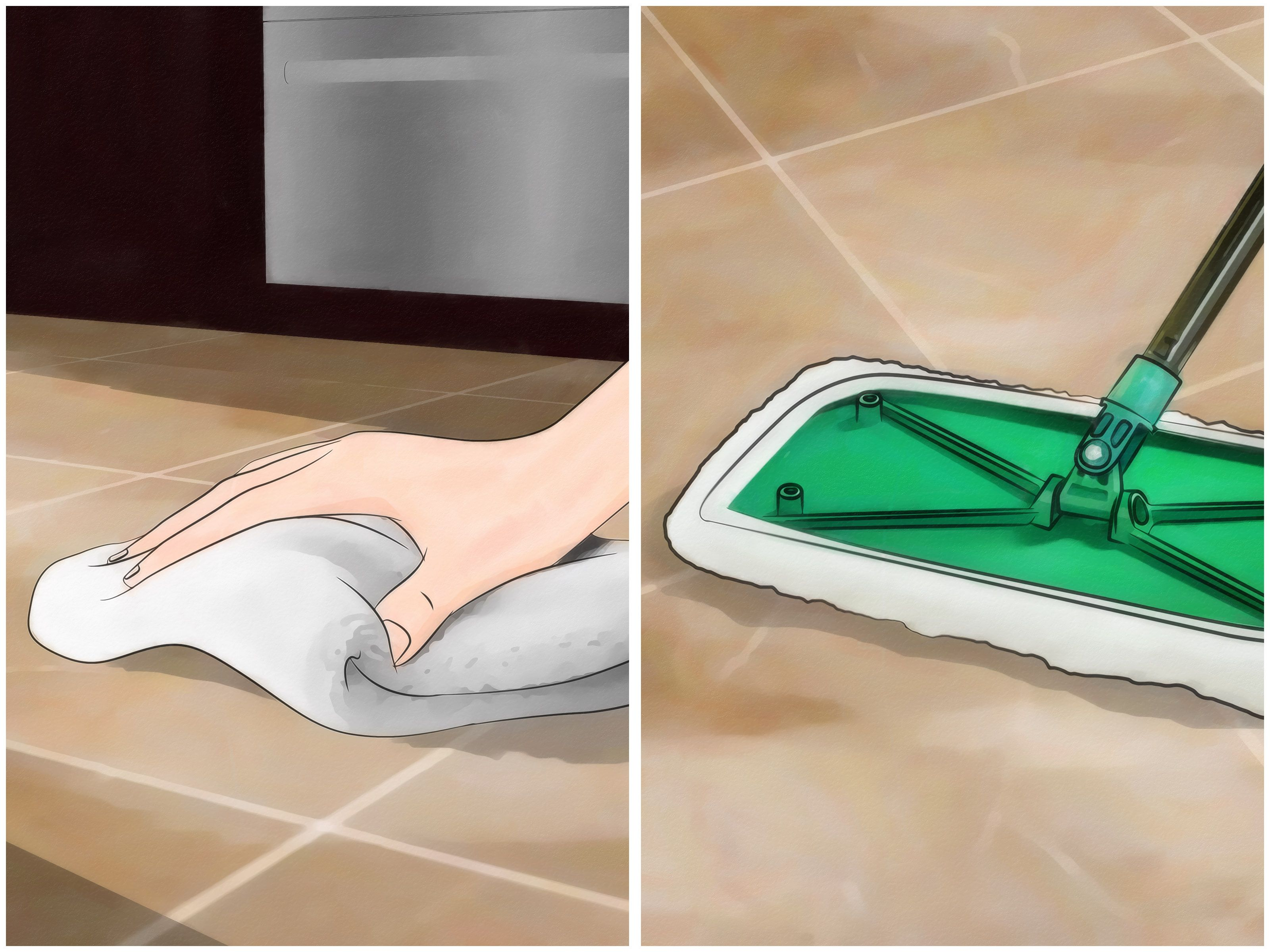 Clean grout between floor tiles diy clean tile grout - How to clean bathroom grout and tiles ...