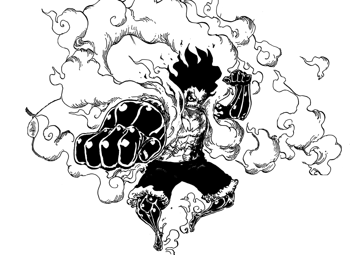 Luffy Gear 4 Tattoo: Luffy, Gear Fourth Snake Man