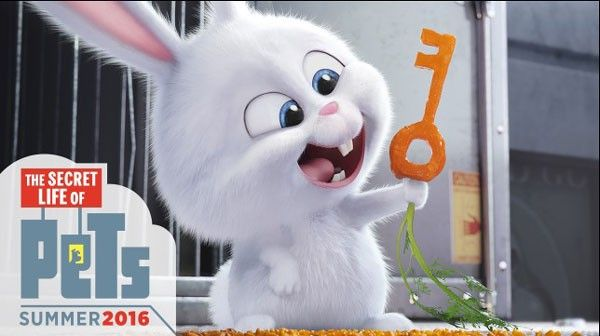 The Secret Life Of Pets Trailer Meet Snowball The Bunny