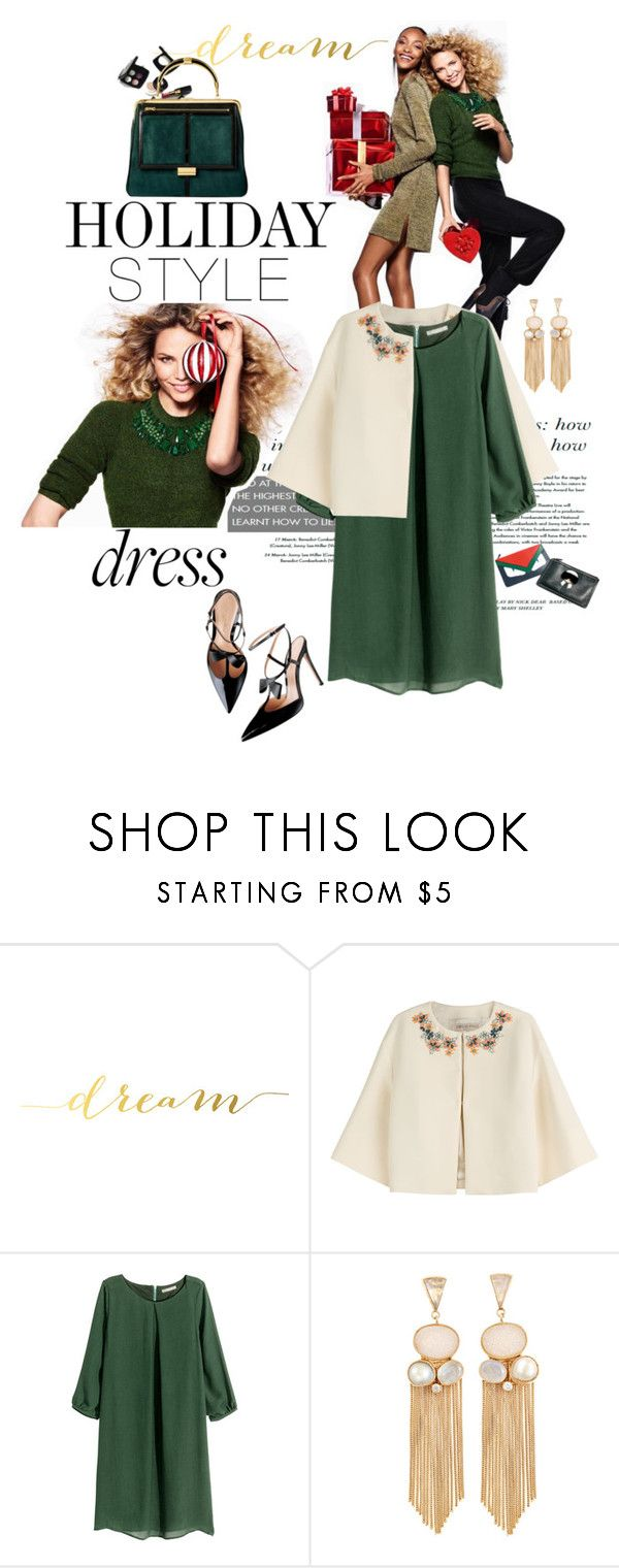 """Holiday Style"" by andreaarg ❤ liked on Polyvore featuring H&M, Emilio Pucci, women's clothing, women, female, woman, misses and juniors"