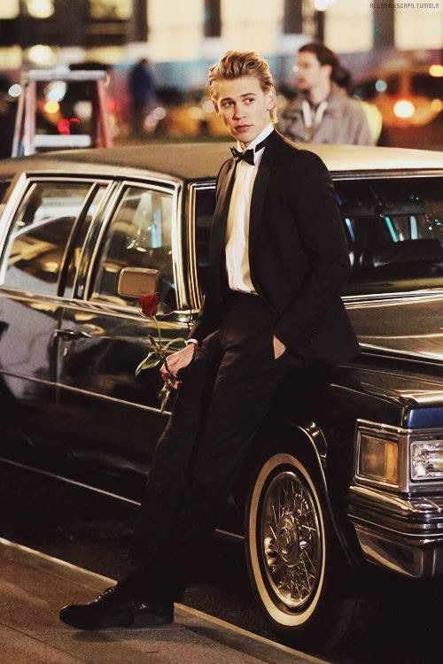Austin Butler as Sebastian Kydd. He may be young, but he's such a babe