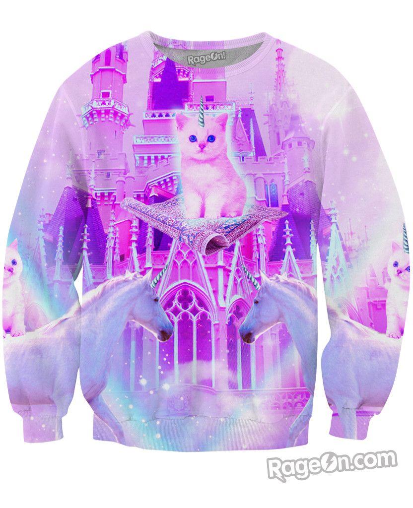 Kitty Land Sweatshirt Printed Sweatshirts Sweatshirts Sweatshirts Hoodie [ 1024 x 832 Pixel ]