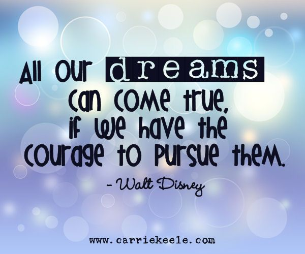 Our Dreams and Goals***