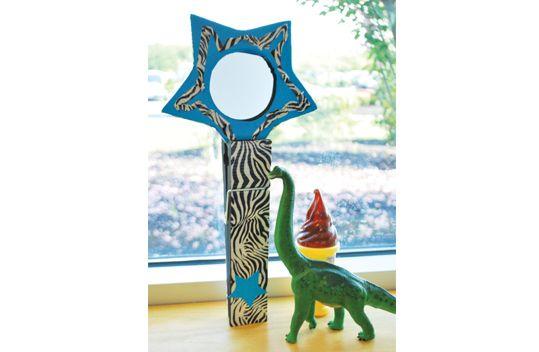 Duck Tape® Star Mirror #ducktape #craft
