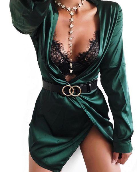 Sugar Free Dress – Hunter Green – colorcoded