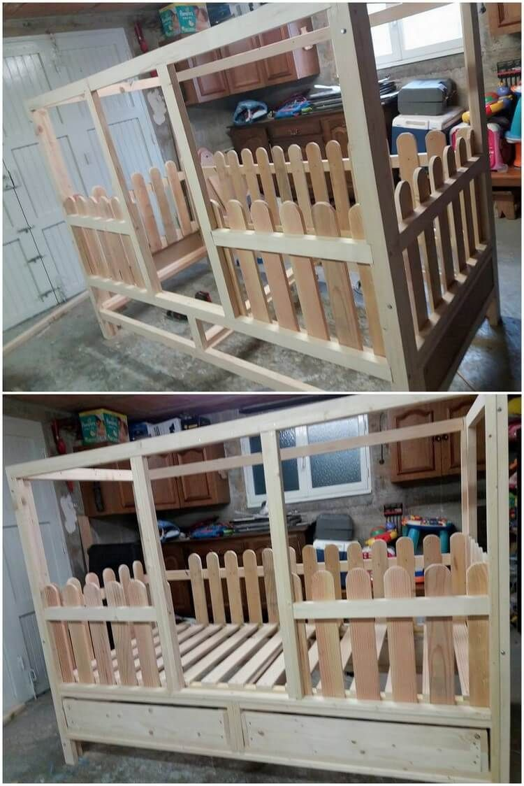 Excellent DIY Ideas with Old Shipping Wood