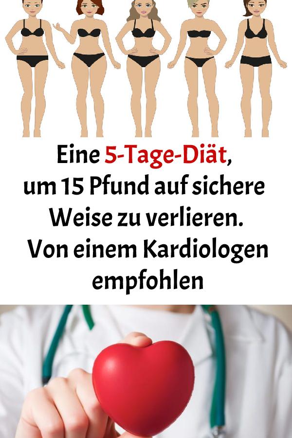In 15 Tagen Pfund verlieren