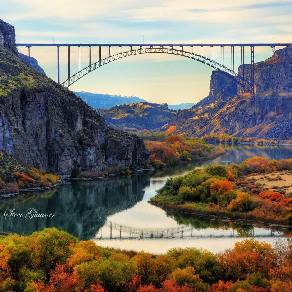 The Perrine Bridge Twin Falls Idaho Fall 2016 Idaho In 2019