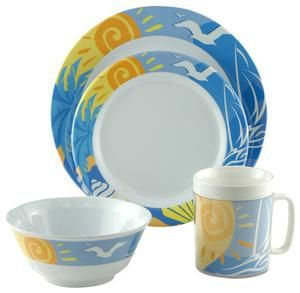 Decorated Non-Skid Melamine Dinnerware Image  sc 1 st  Pinterest & Decorated Non-Skid Melamine Dinnerware Image | 盘子 | Pinterest ...