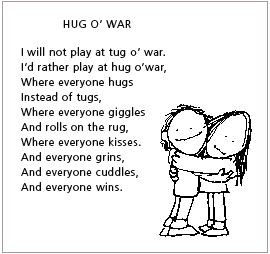 Shel Silverstein - What a sweet sentiment | the chad | Kids poems