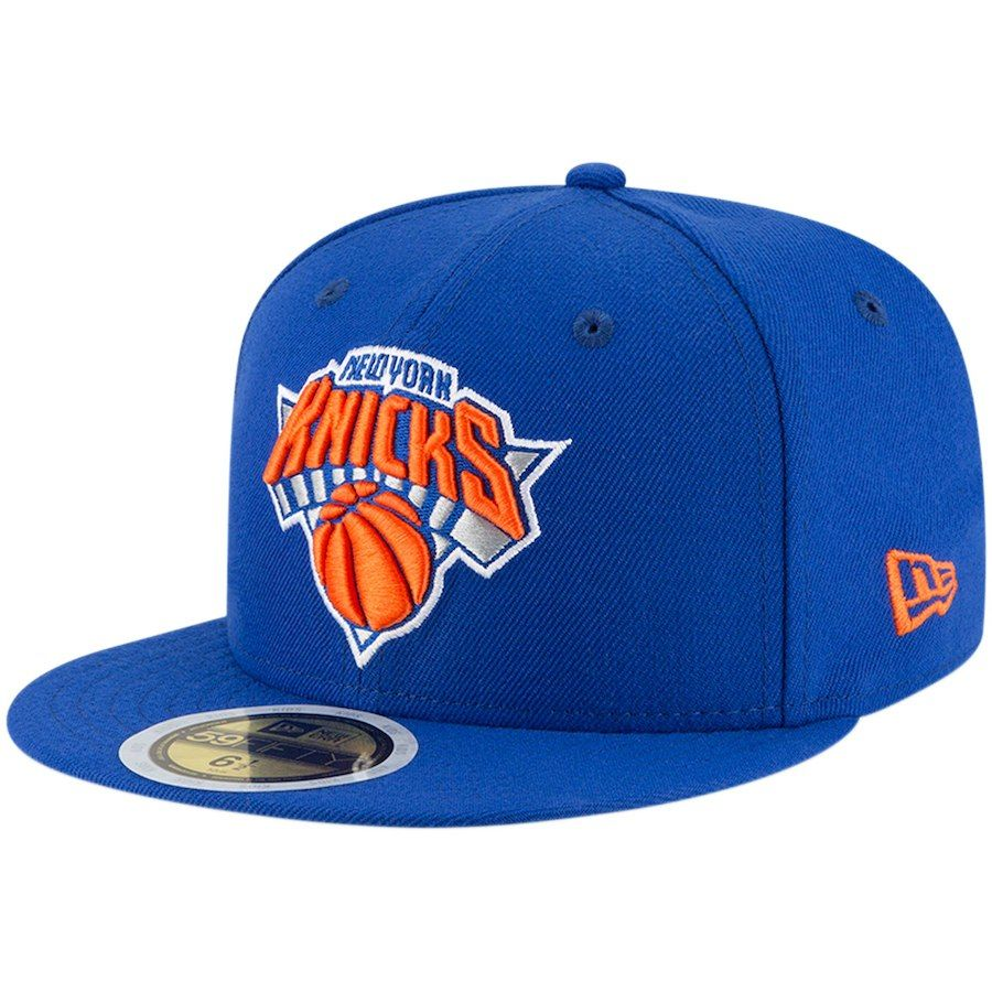 2cb13aa86f6 Youth New York Knicks New Era Blue Official Team Color 59FIFTY Fitted Hat