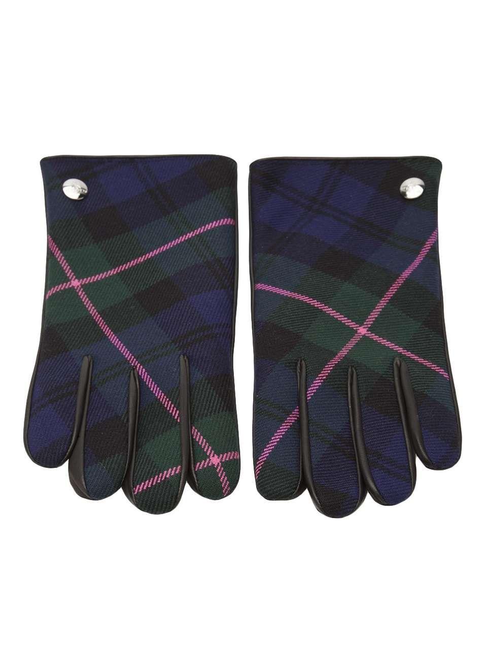 4f4068c32c5 Vivienne Westwood tartan and nappa glove