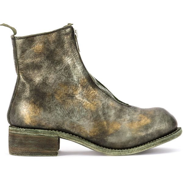 distressed zipped boots - Metallic Guidi Pictures Sale Online oeH3ovPE3