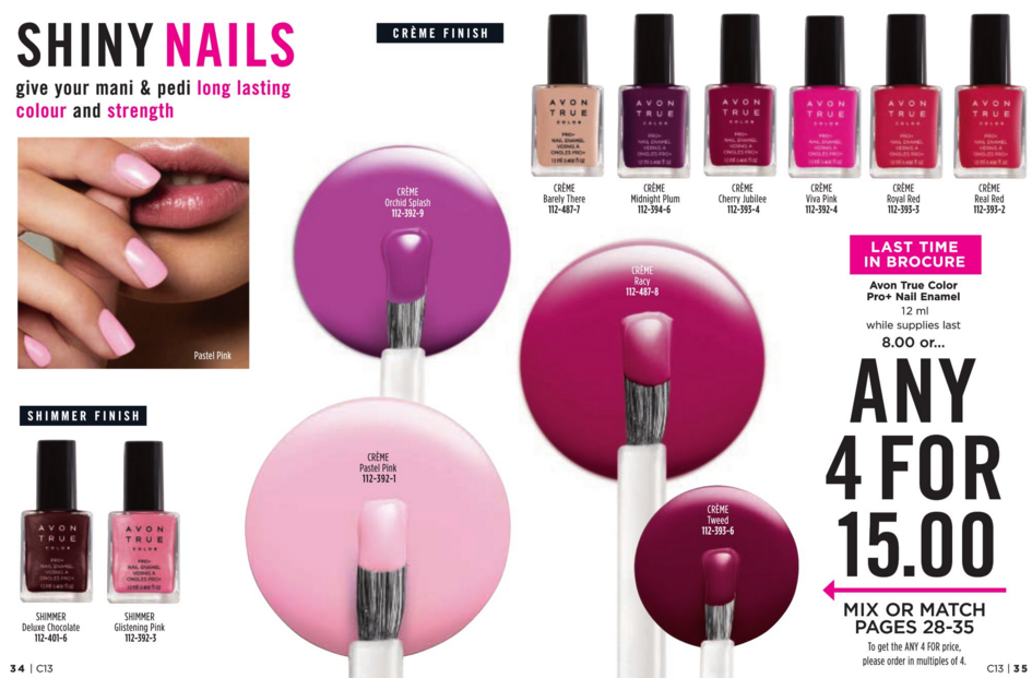 Avon Canada Special Offers On Campaign 13! (With images
