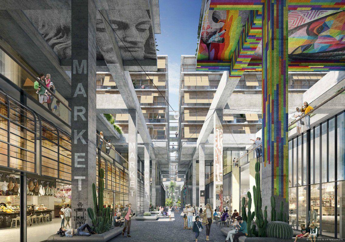 6 AM en el Distrito de las Artes de Los Ángeles. Nuevos detalles del proyecto por Herzog & de Meuron  | METALOCUS