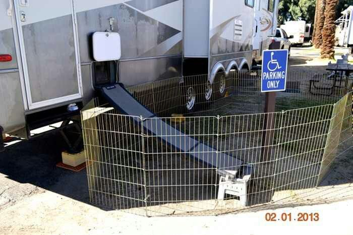 Doggie Door For Ur Dogs Love It Camping Trailers And
