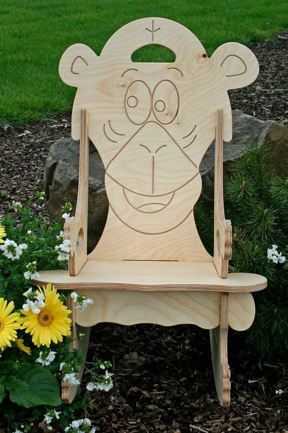Monkey Puzzle Rocking Chair Super Cute Free By