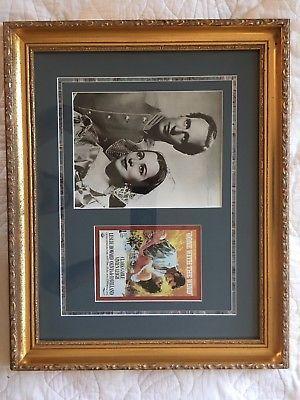 (Ad eBay Url) Olivia De Havilland Autograph Framed 8X10 w