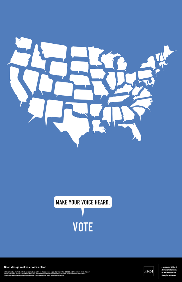 US speech bubble states | Make Your Voice Heard Blue ...