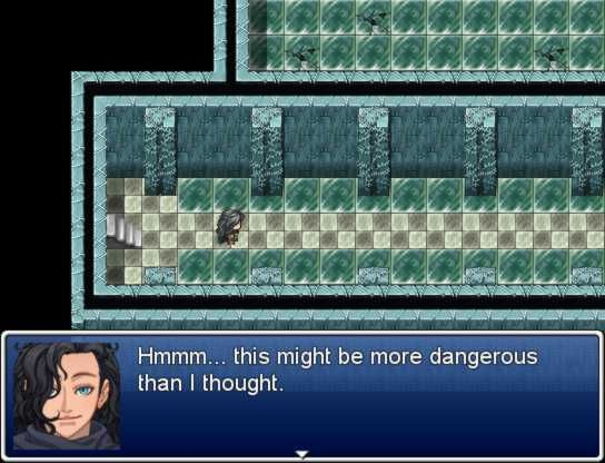Maybe use RPG Maker to create scenes